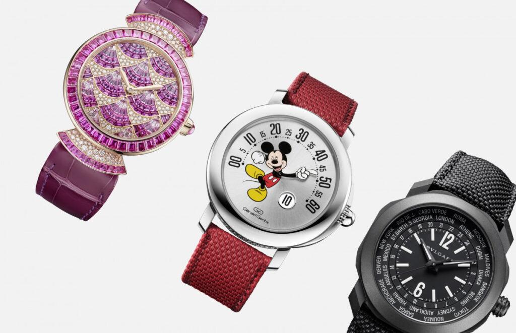 Мировое время, полет бабочки и Микки-Маус: Bvlgari на Geneva Watch Days